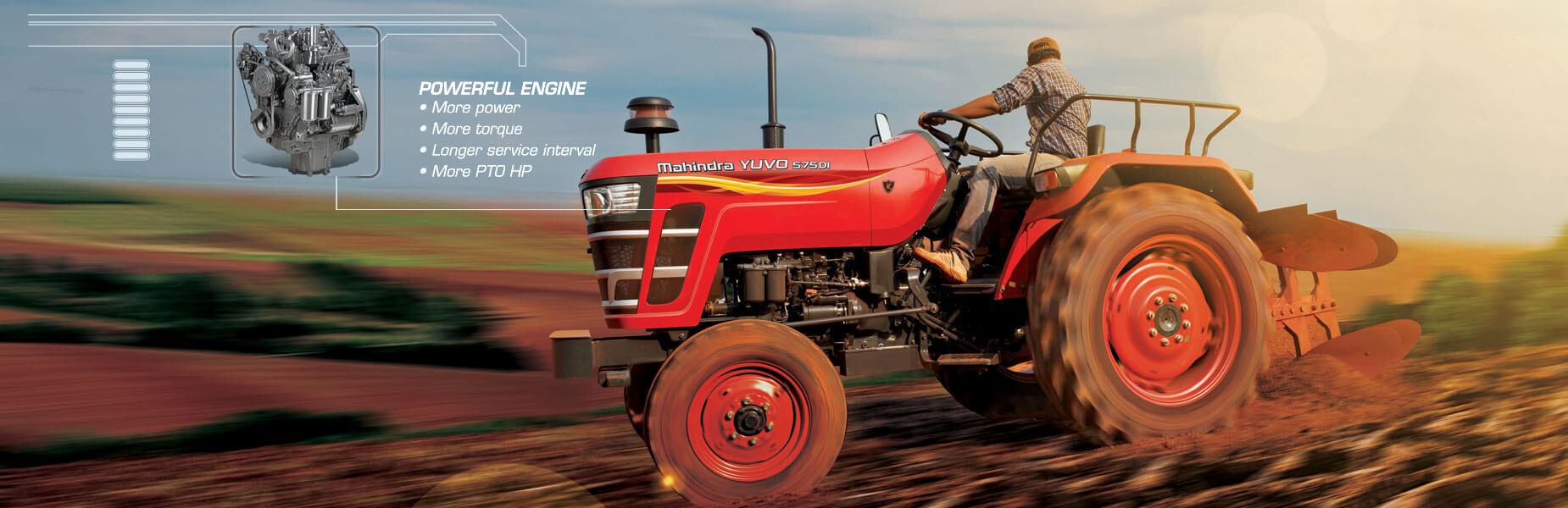Mahindra Yuvo Tractors